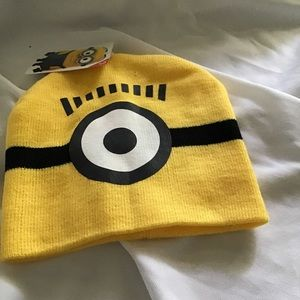 Despicable Me Minions Beanie One Size Knit Hat NEW
